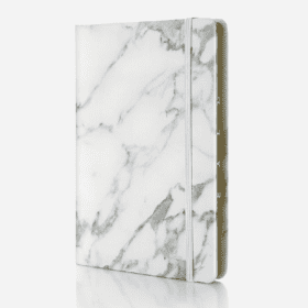 Marble Series PU leather Notebook