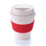 7301CDH .2 Bamboo Mug With Color Sleeve