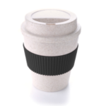 7301CDH .3 Bamboo Mug With Color Sleeve