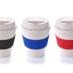 7301CDH Bamboo Mug With Color Sleeve