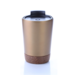 8301CDH. 2 Stainless steel vacuum mug with cork base