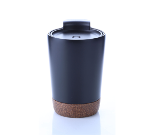 8301CDH. 4 Stainless steel vacuum mug with cork base