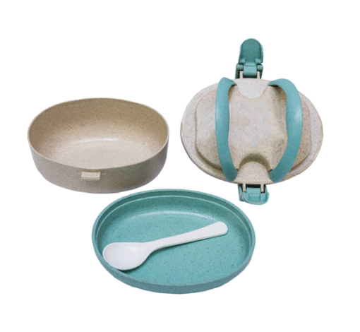 GM0023. 4 Wheat straw lunchbox