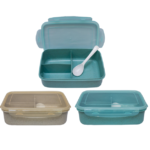 GM0035 Wheat straw lunchbox with spoon
