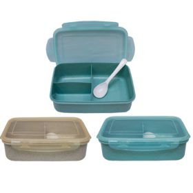 Wheat Straw Eco Lunchbox  With Spoon