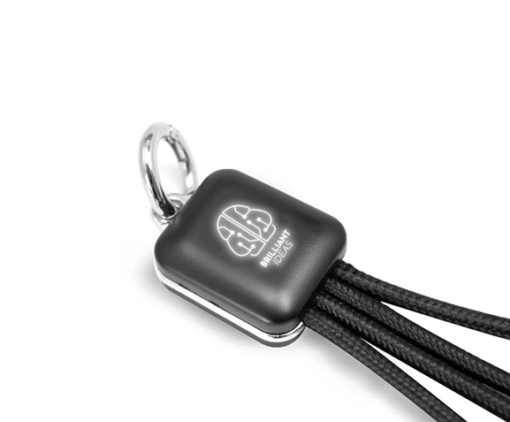 TT0037. 1 3 in 1 Fast Charging Cable With LED Logo