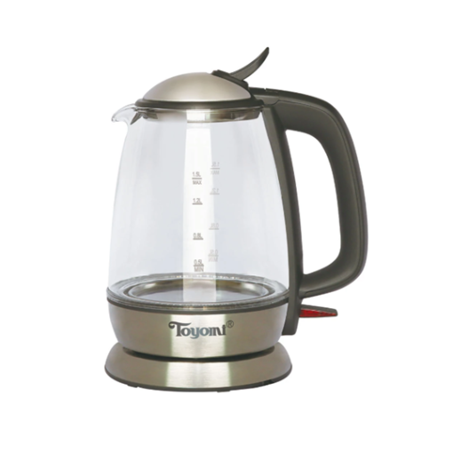 WK 1531 TOYOMI 1.5L Electric Glass Kettle