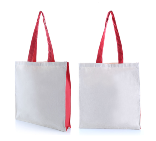 9301WNT 2 Tone Canvas Tote Bag – 10oz .2