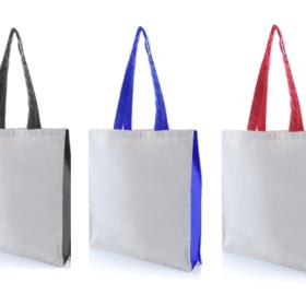 Two Tone Canvas Tote Bag – 10oz