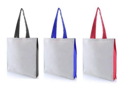 9301WNT 2 Tone Canvas Tote Bag – 10oz .3