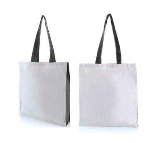 9301WNT 2 Tone Canvas Tote Bag – 10oz