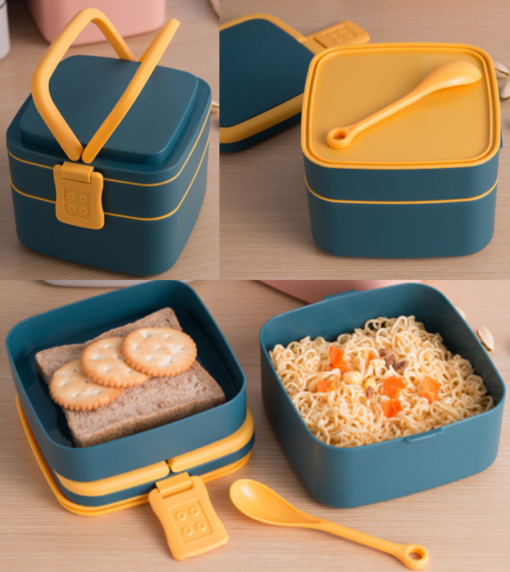 Double Layer Lunch box. 1